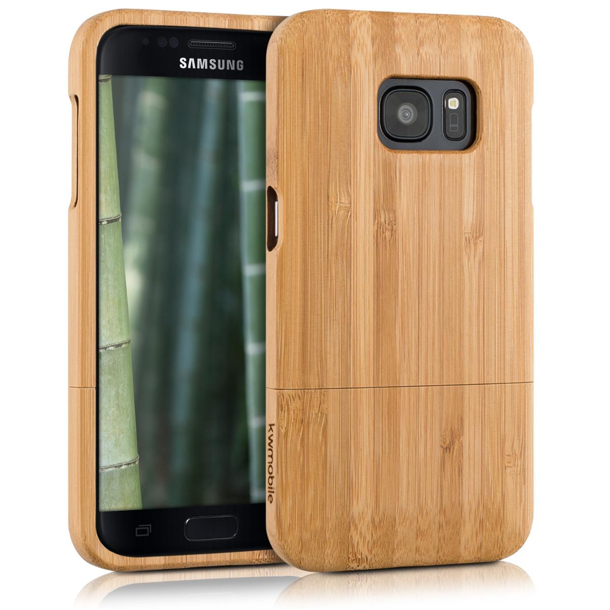KW Σκληρή Ξύλινη Θήκη - Samsung Galaxy S7 (37139.24)