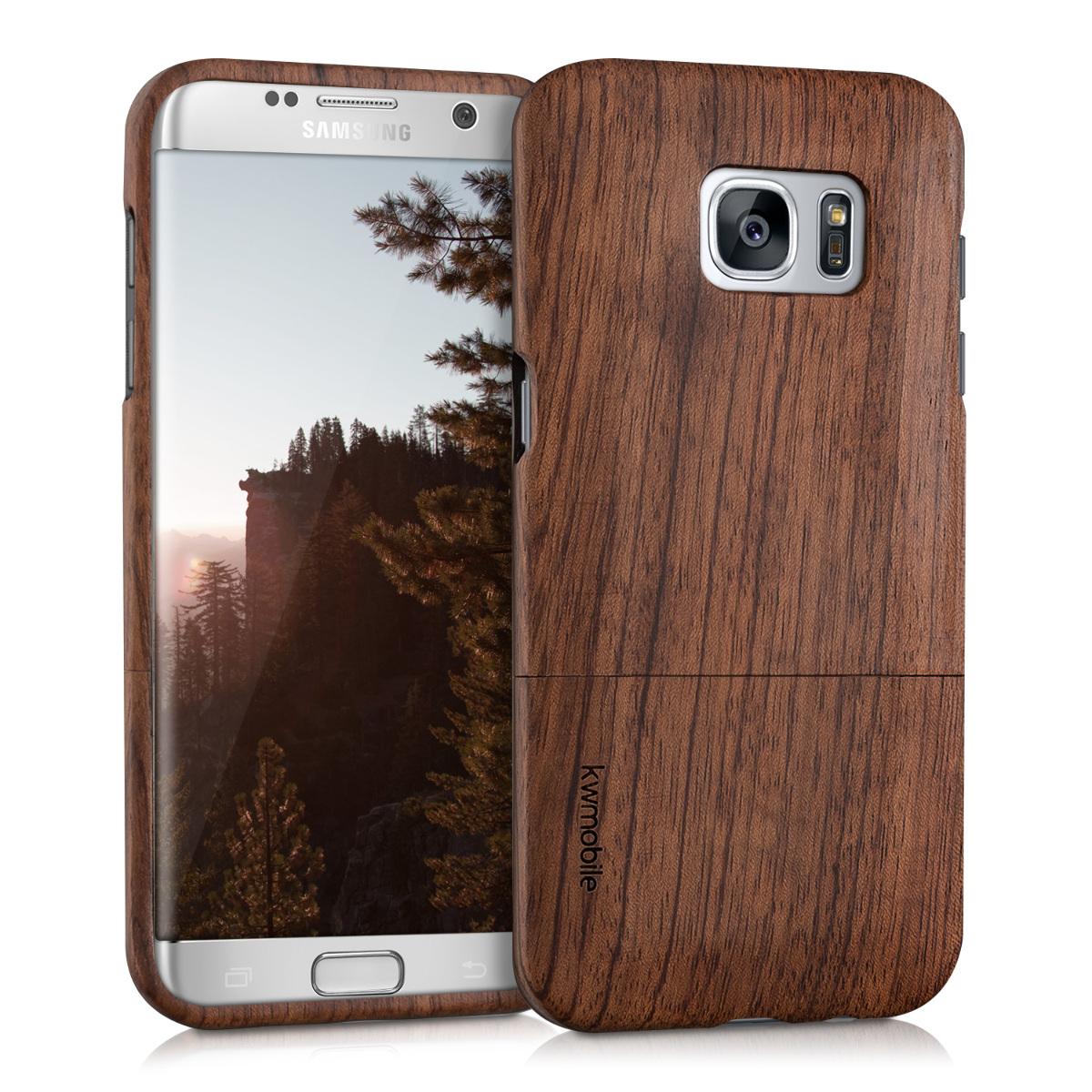 KW Σκληρή Ξύλινη Θήκη Samsung Galaxy S7 edge - (37150.05)