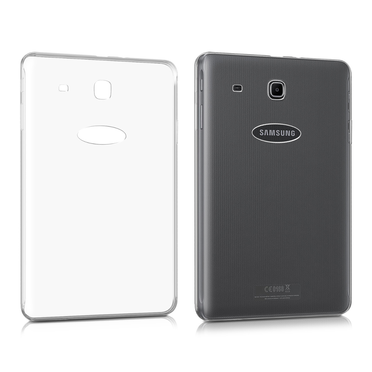 KW Θήκη Σιλικόνης  Samsung Galaxy Tab E 9.6'' - Transparent (37437.03)
