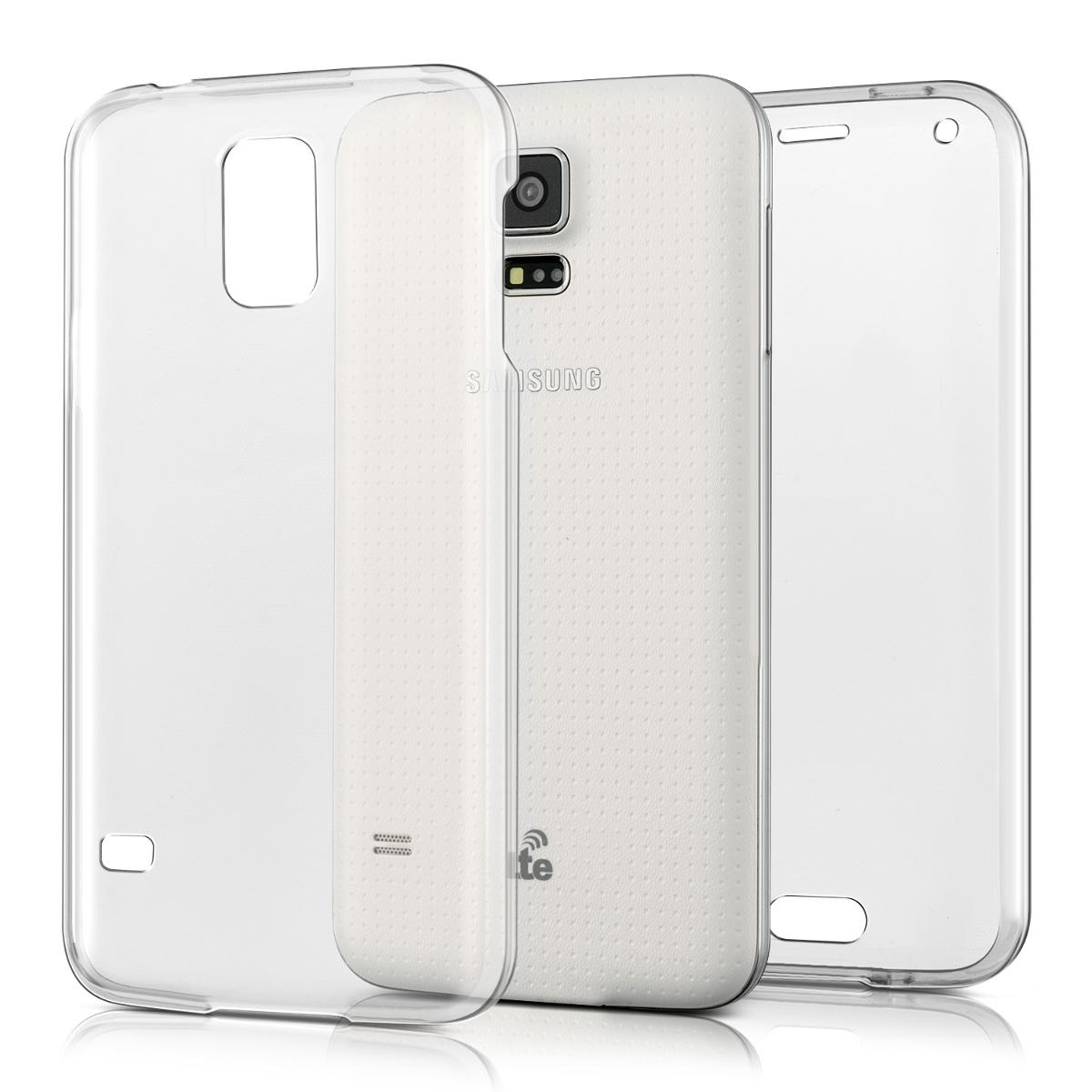KW Διάφανη Θήκη Σιλικόνης Full Body Samsung Galaxy S5 / S5 Neo (37820.03)