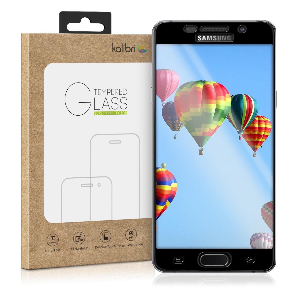 Kalibri Tempered Glass - Fullface Αντιχαρακτικό Γυαλί Οθόνης Samsung Galaxy A5 2016 - Black Frame (38804.01)