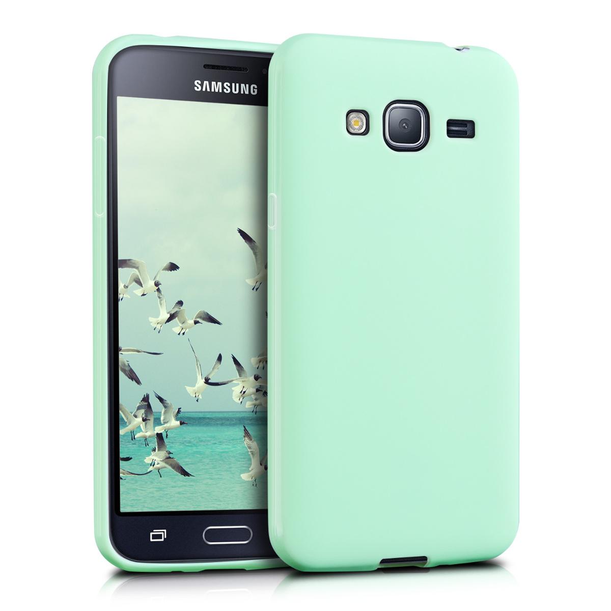 KW Θήκη Σιλικόνης Samsung Galaxy J3 2016 - Mint Matte (39066.17)