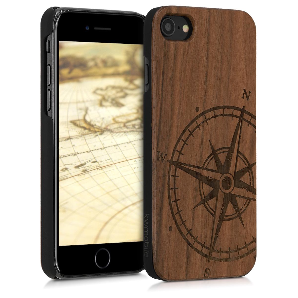 KW Ξύλινη Θήκη iPhone 7 / 8 - Brown (839462.15)