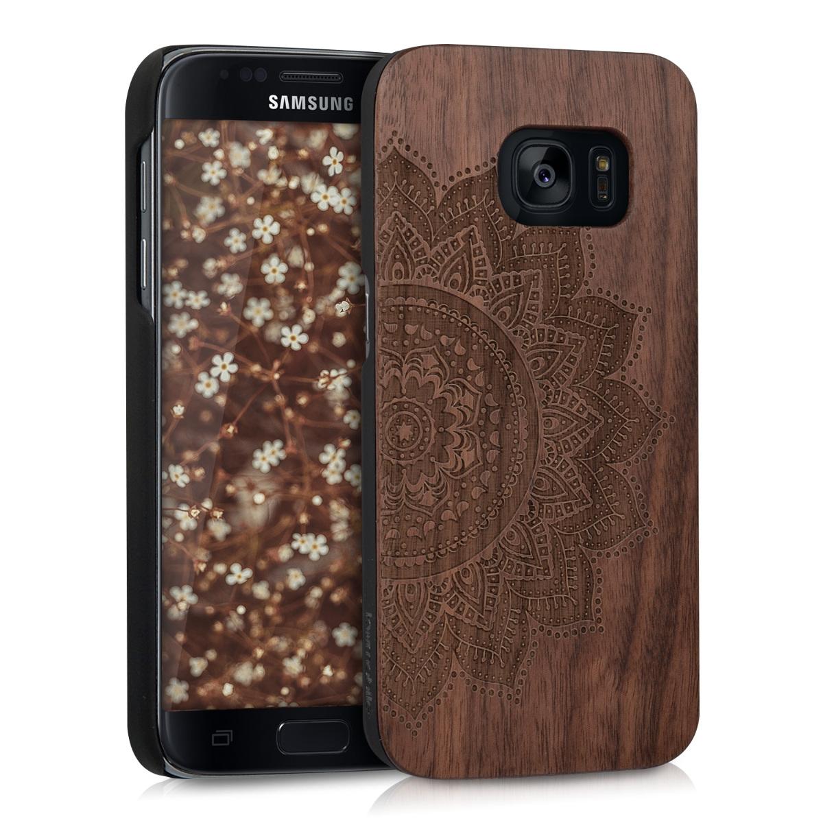 KW Σκληρή Ξύλινη Θήκη Samsung Galaxy S7 (39561.03)