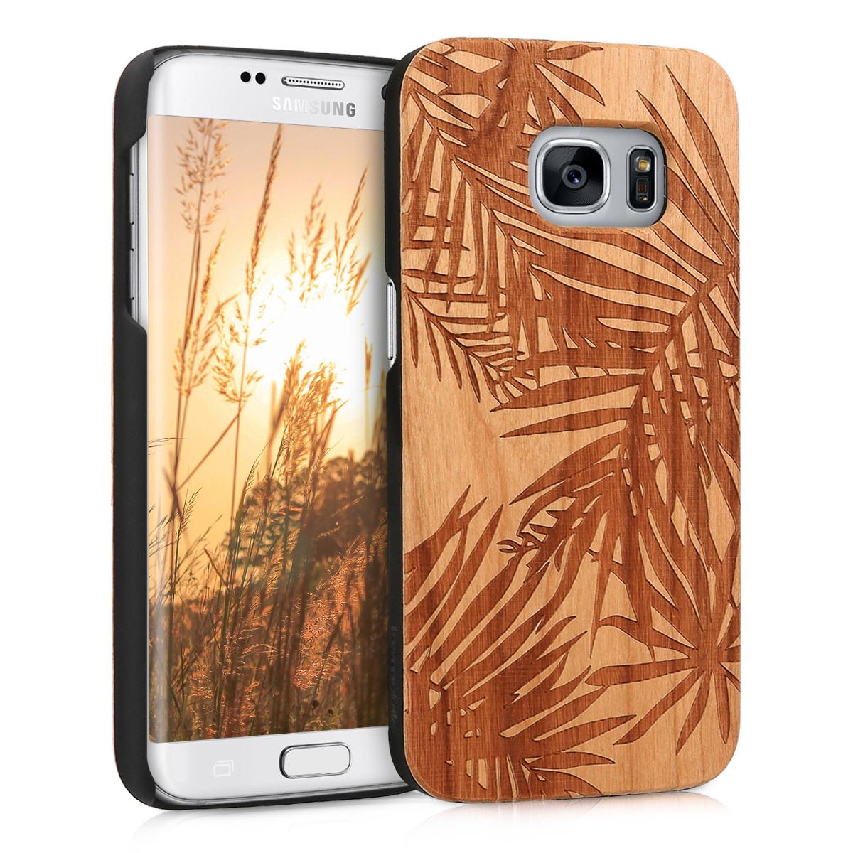 KW Ξύλινη Θήκη Samsung Galaxy S7 - Brown (39561.05)