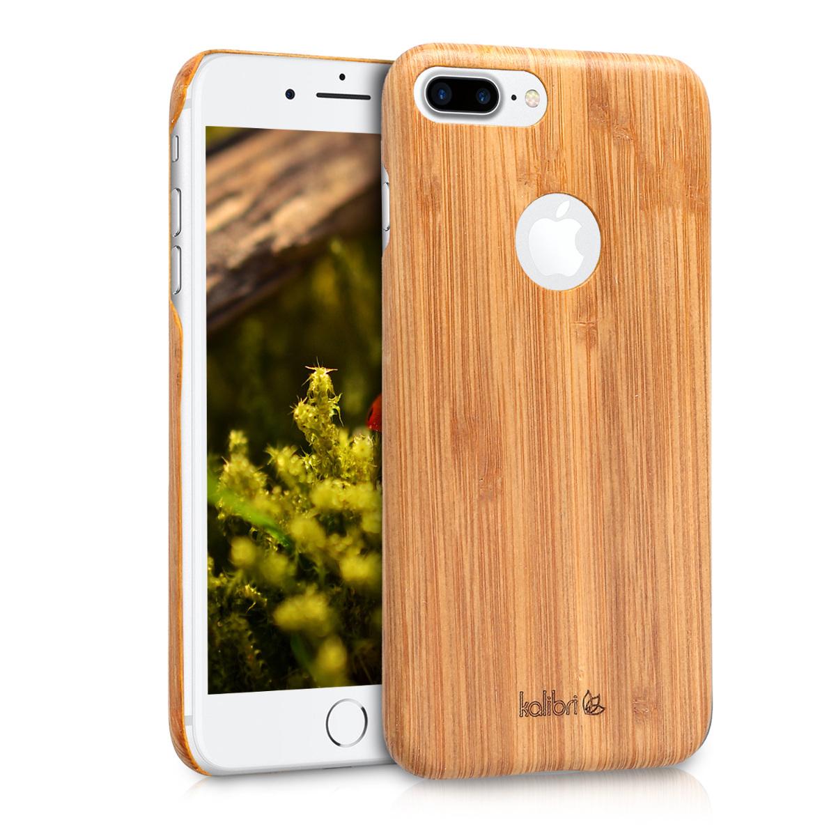 Kalibri Σκληρή Ξύλινη θήκη iPhone 7 Plus / 8 Plus  - Ultra Slim (39717.24)