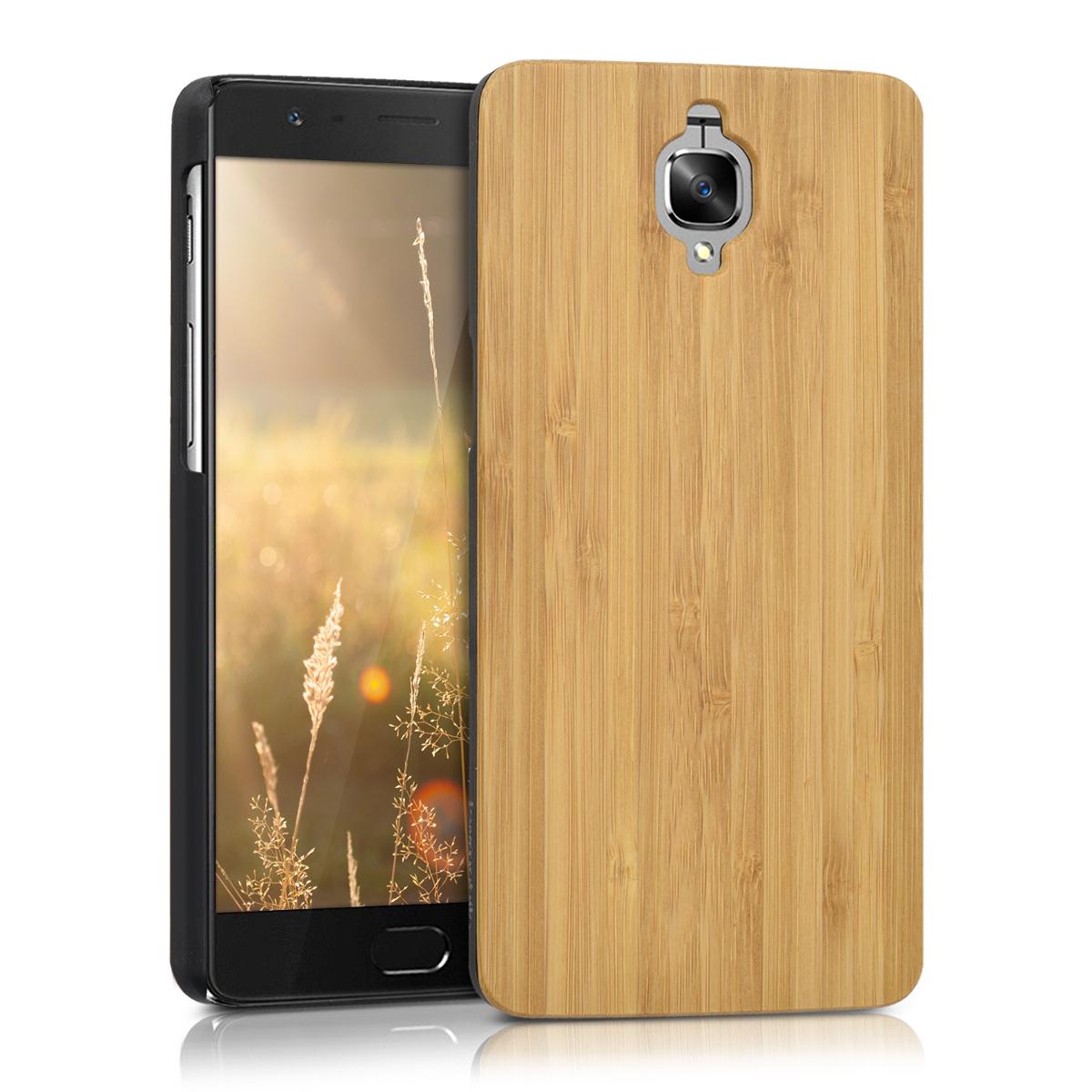 KW Ξύλινη Θήκη OnePlus 3/3T - Brown (39795.24)