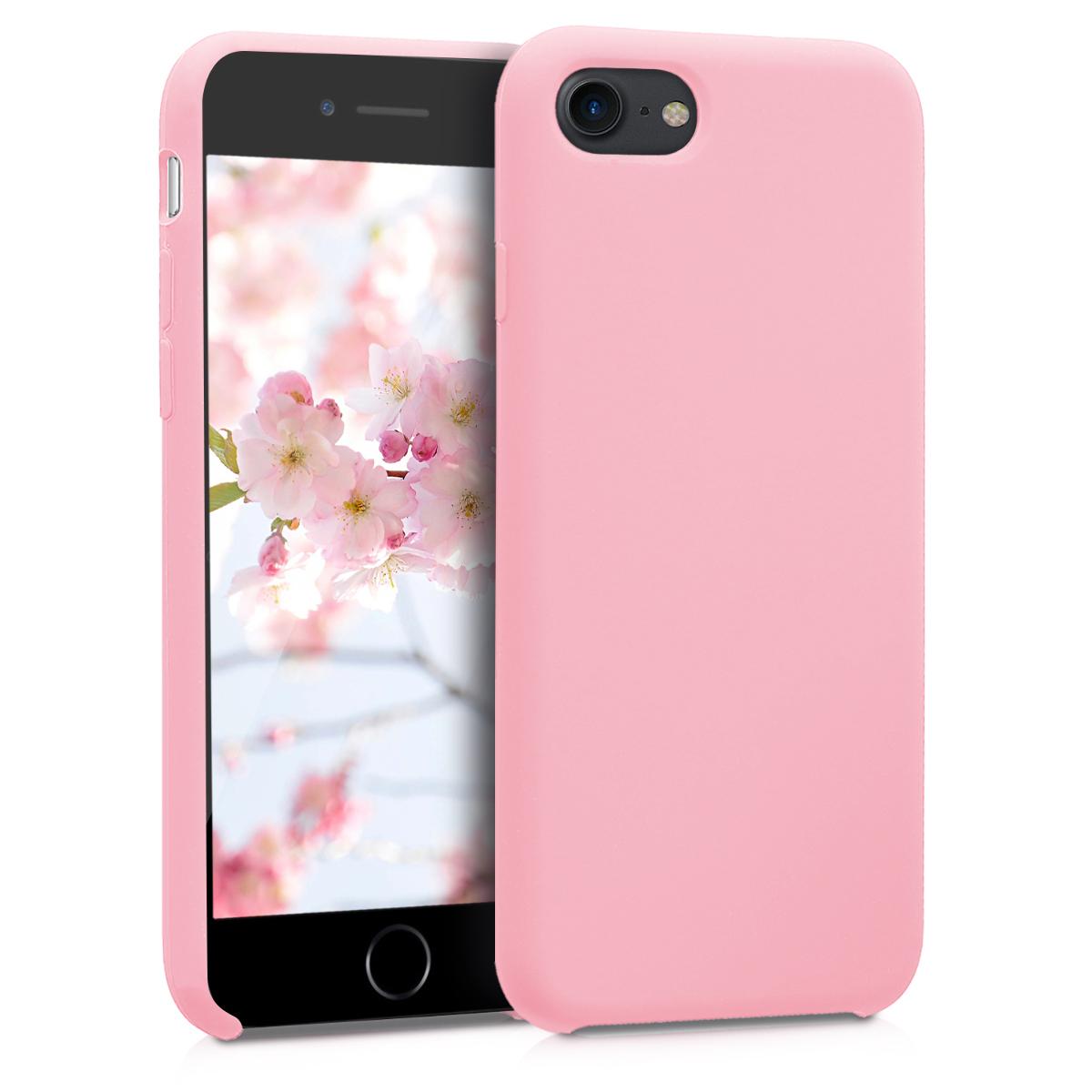 KW Soft Flexible Rubber Θήκη Σιλικόνης iPhone 7 / 8 - Light Pink (40225.110)