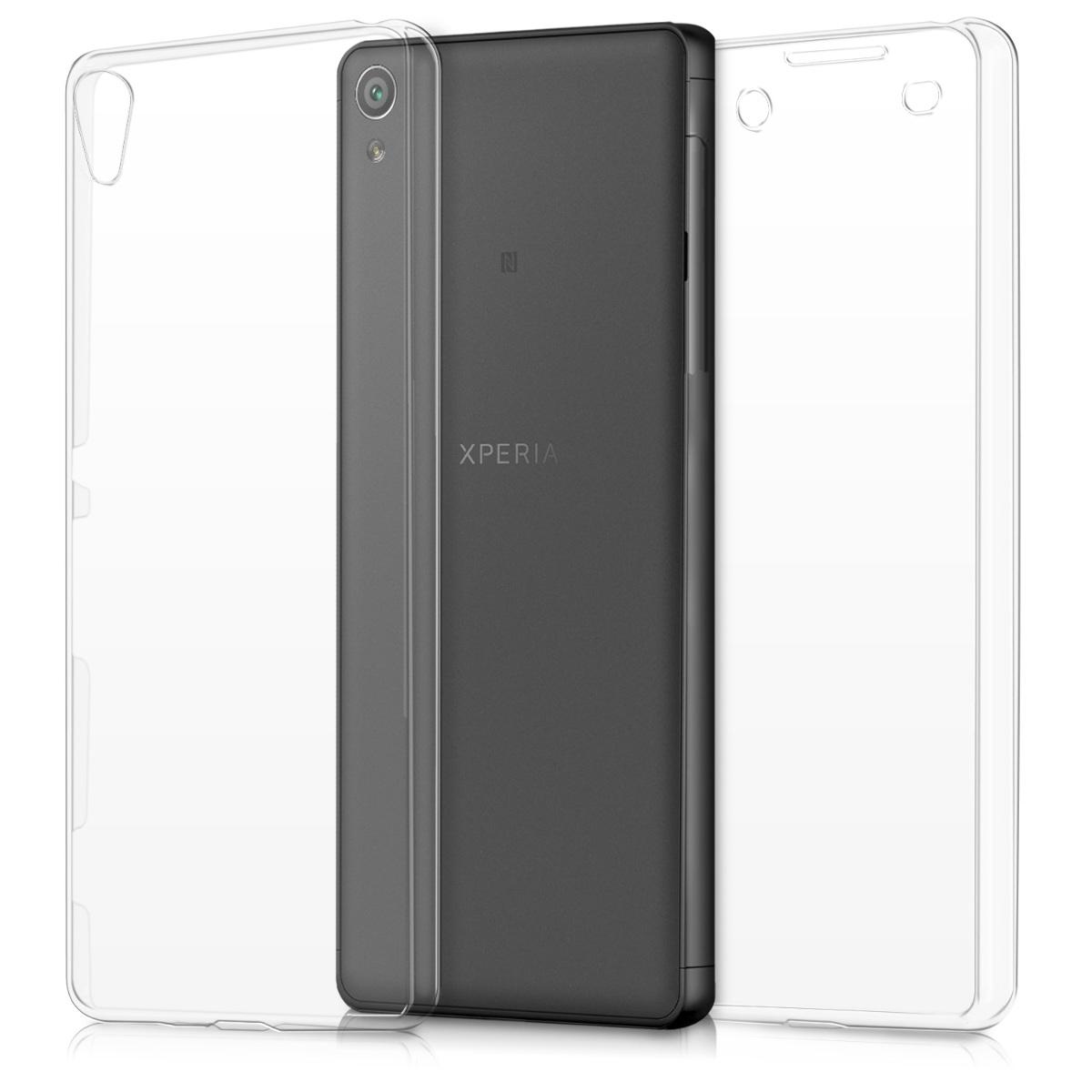 KW Διάφανη Θήκη Σιλικόνης Full Body Sony Xperia XA (40234.31)