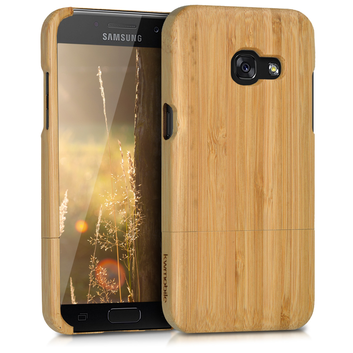 KW Ξύλινη Θήκη Samsung Galaxy A3 (2017) -  Bamboo - (40699.24)
