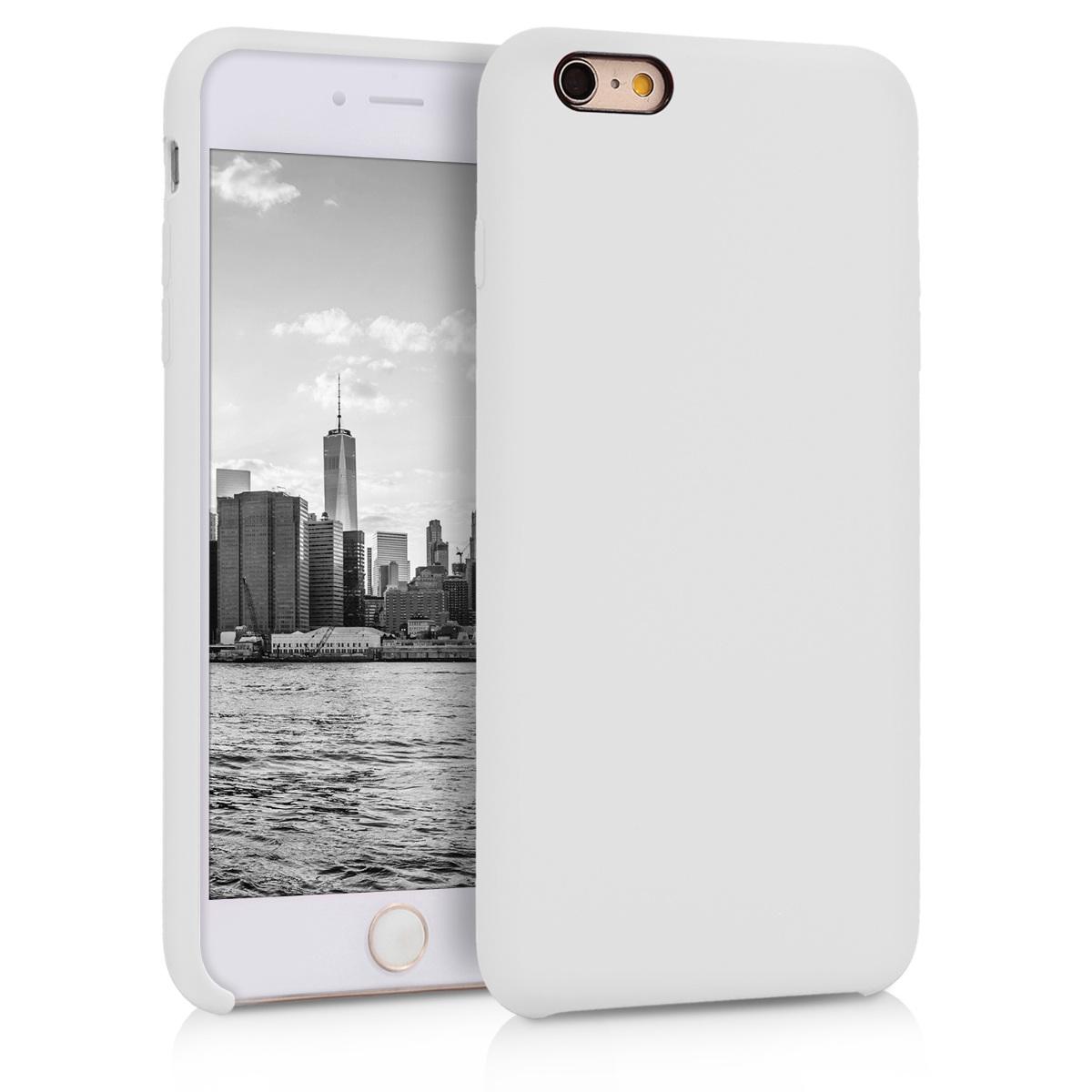 KW TPU Θήκη Σιλικόνης Apple iPhone 6 Plus / 6S Plus - Soft Flexible Rubber - White (40841.02)