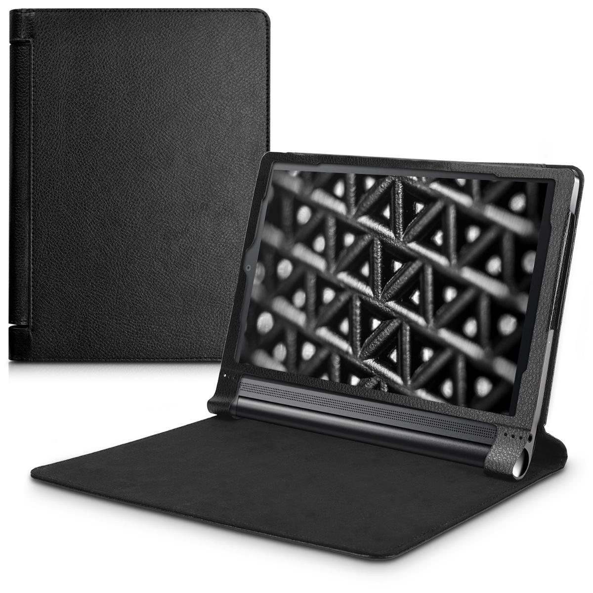 KW Ultra Slim Cover - Θήκη Flip για Lenovo Yoga Tab 3 Plus - Black (40939.01)