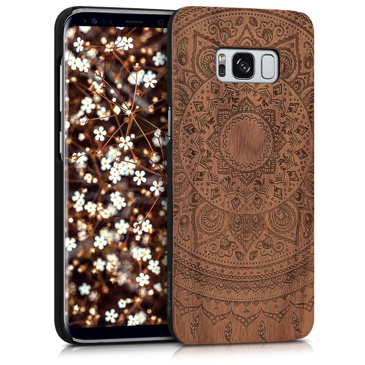 KW Σκληρή Ξύλινη Θήκη Samsung Galaxy S8 (40979.01)