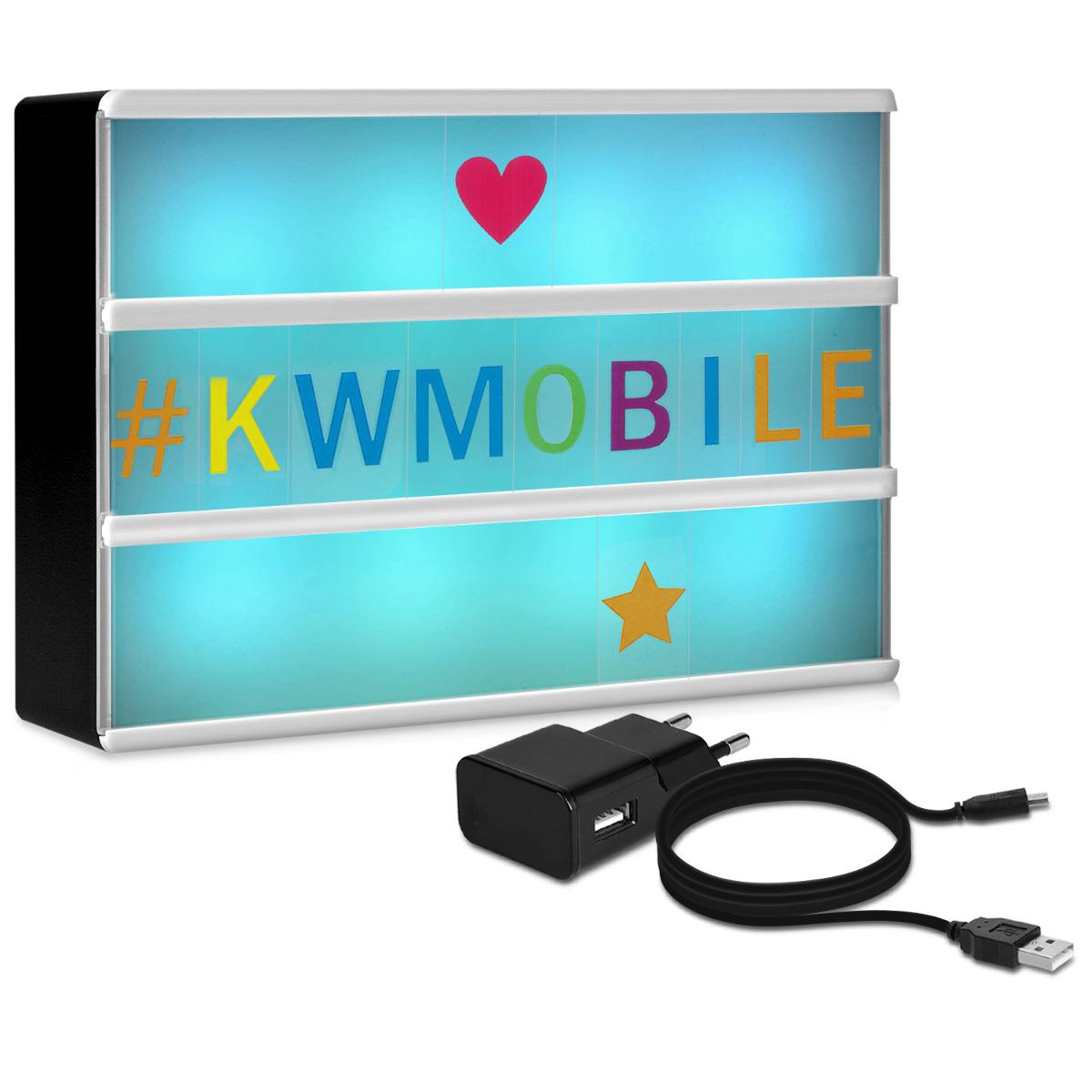 KW LED Color Change Lightbox A6 - 7 Xρώματα  με θύρα micro USB (41045)