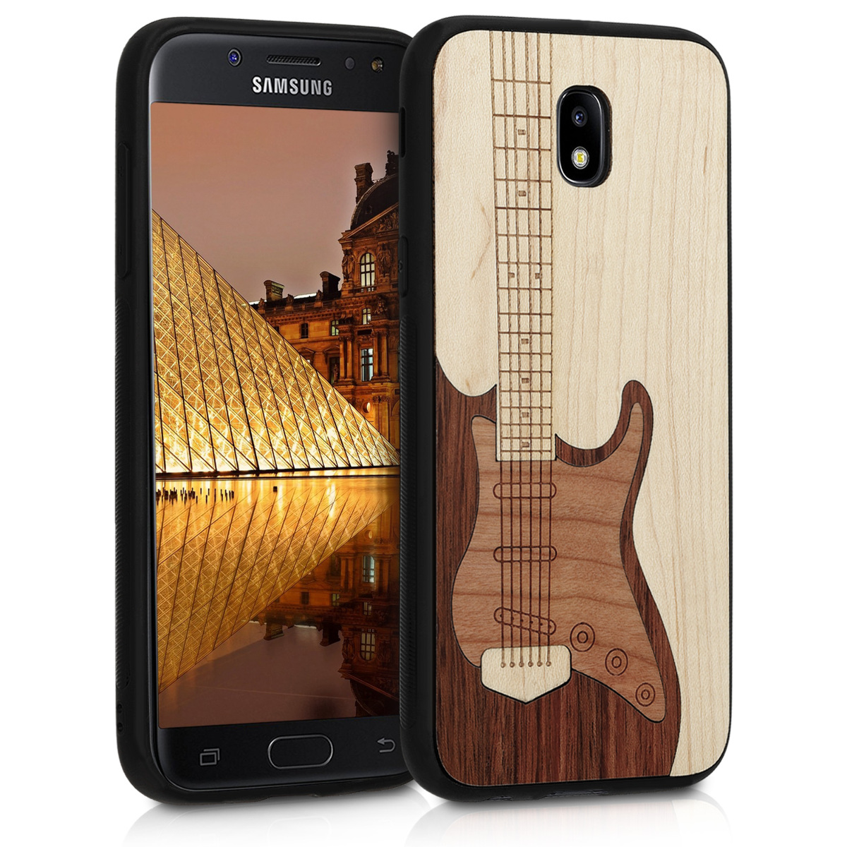 KW Ξύλινη Θήκη Samsung Galaxy J5 (2017) DUOS -  Light brown - Guitar (41157.02)