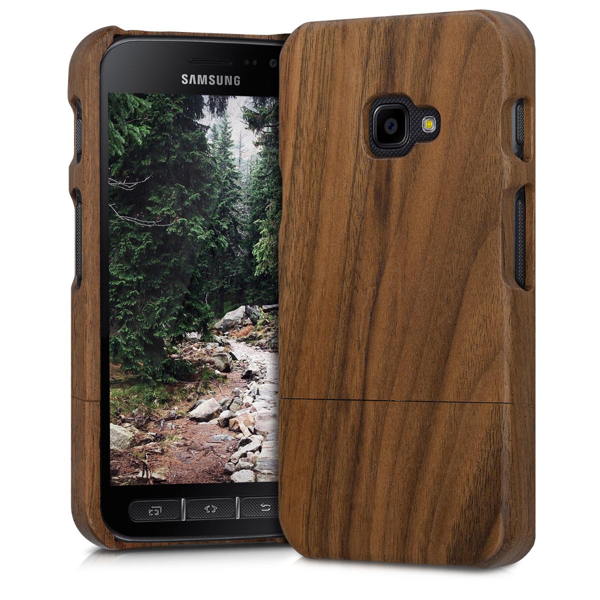 KW Ξύλινη Θήκη Samsung Galaxy Xcover 4 - Καφέ (41173.18)