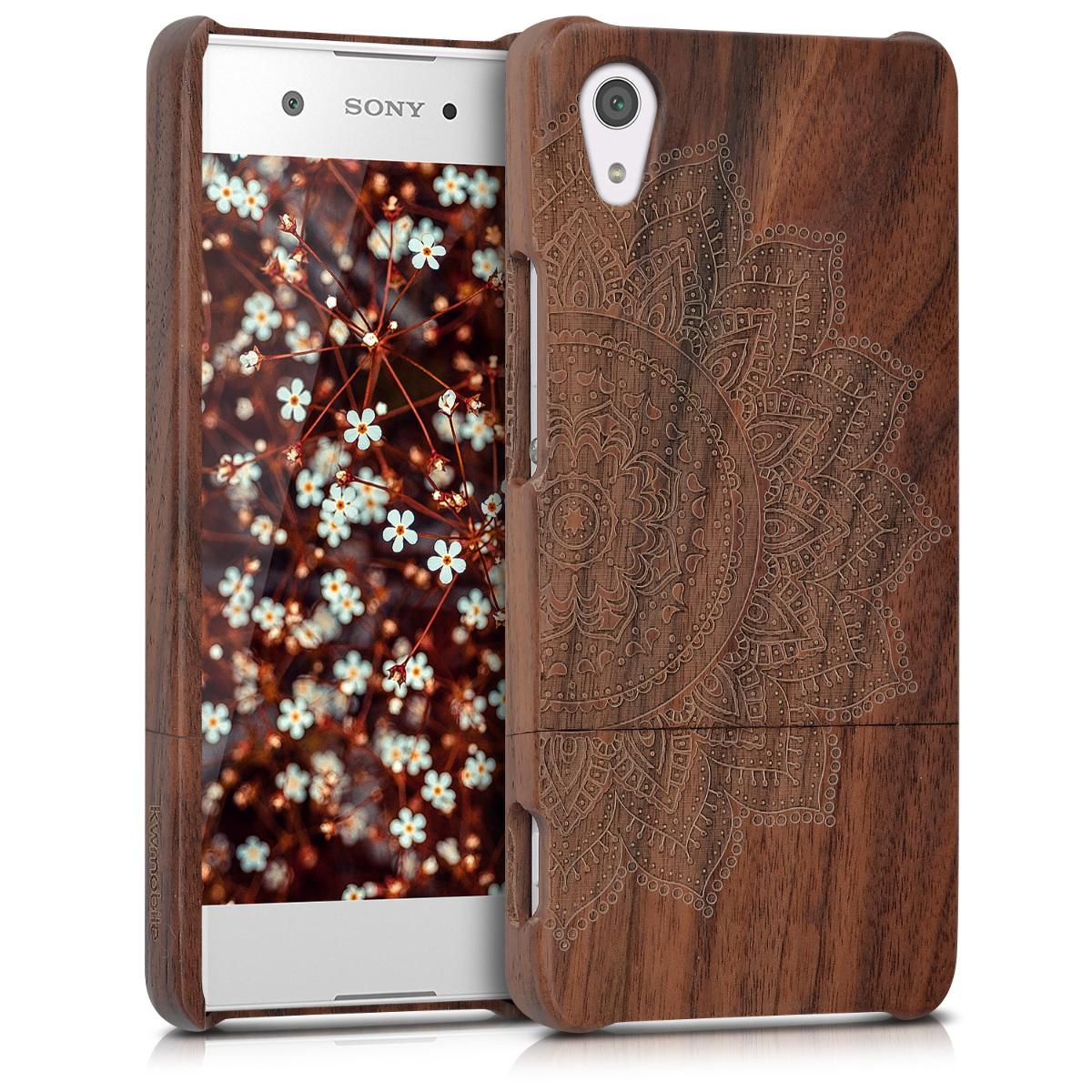 KW Ξύλινη Θήκη Sony Xperia XA1 - Brown (41346.01)