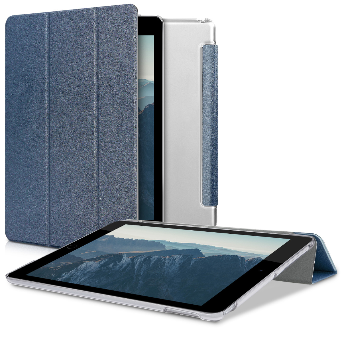 KW Θήκη Slim iPad 9.7'' 2018 / 2017 - Σκούρο μπλε (41509.17)