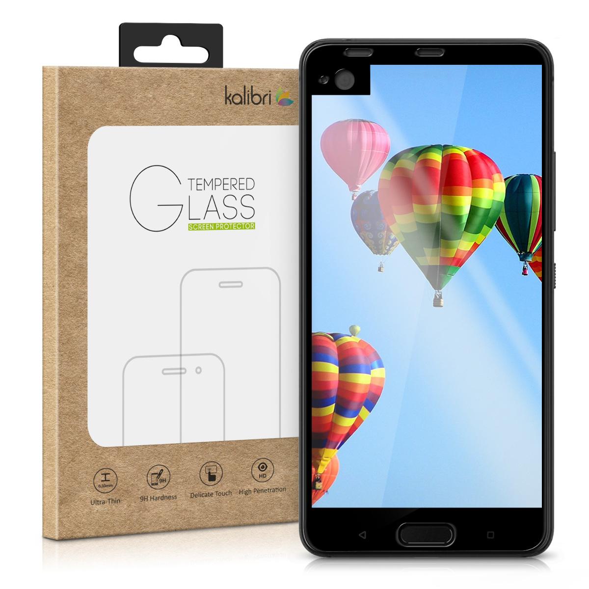 Kalibri Tempered Glass - Fullface Αντιχαρακτικό Γυαλί Οθόνης HTC U Ultra (41713.01)
