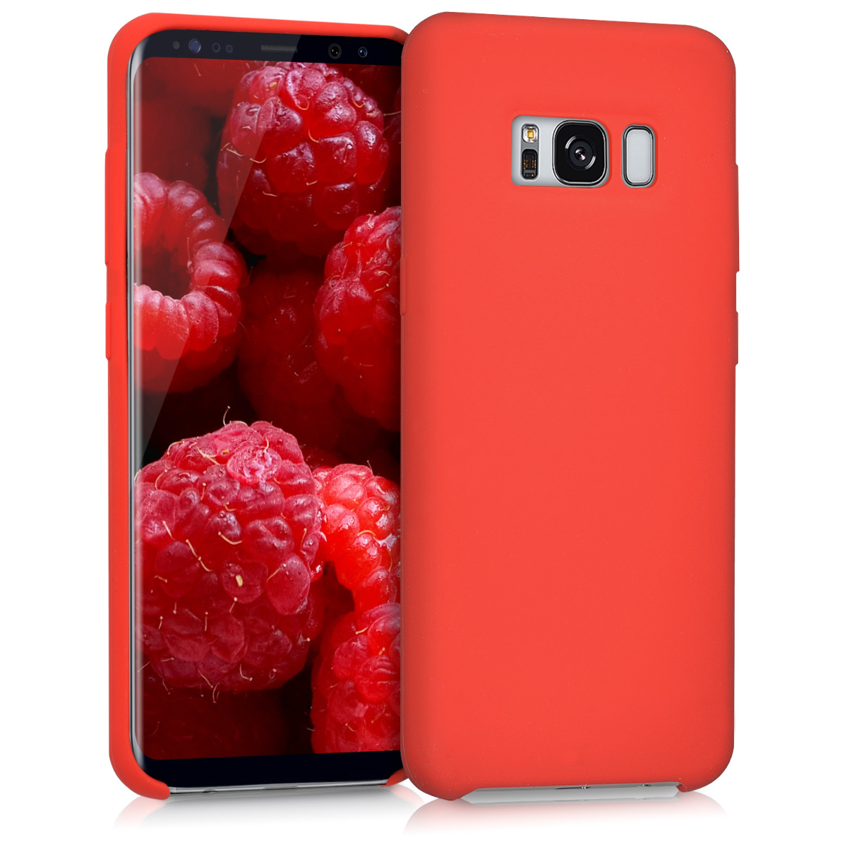 KW TPU Θήκης Σιλικόνης Samsung Galaxy S8 - Soft Flexible Rubber Protective Cover - Red (41853.09)