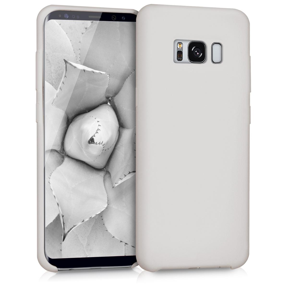 KW TPU Θήκη Σιλικόνης Samsung Galaxy S8 - Soft Flexible Rubber Protective Cover - Beige (41853.11)