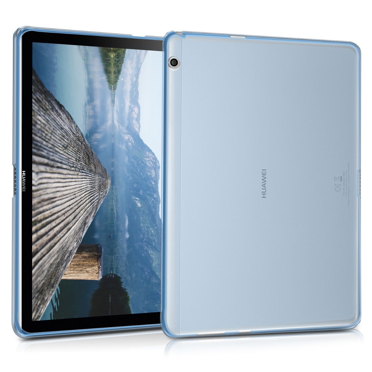 KW Ημιδιάφανη Θήκη Σιλικόνης Huawei MediaPad T3 10' - Blue (41880.04)