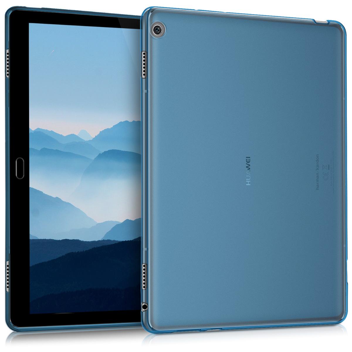KW Θήκη Σιλικόνη Huawei MediaPad M3 Lite 10 - Blue (41992.04)