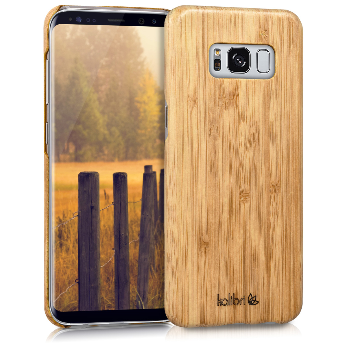 Kalibri Ξύλινη Θήκη Samsung Galaxy S8 - Brown (42160.24)