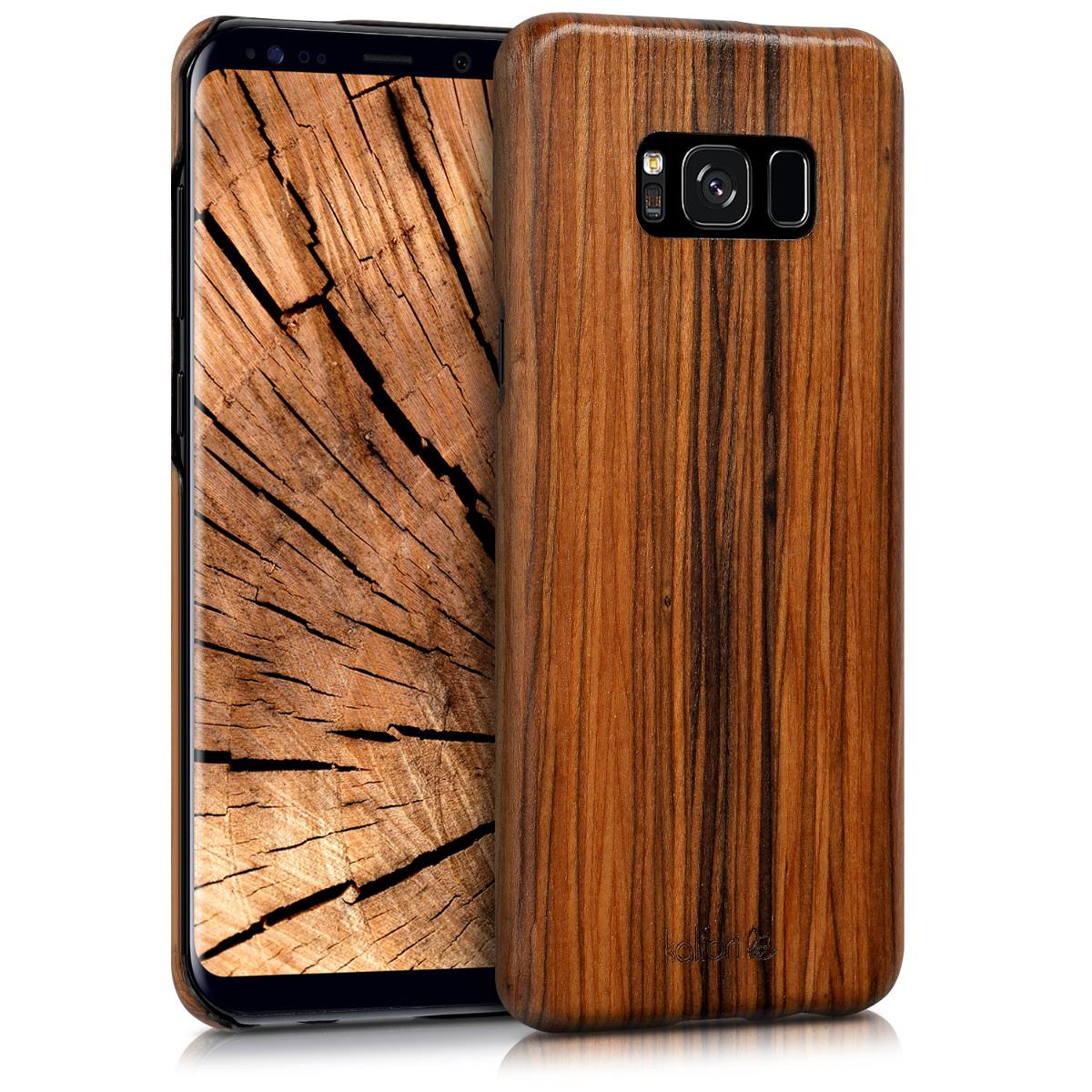 Kalibri Ξύλινη Θήκη Samsung Galaxy S8 Plus  - Ultra Slim - Brown  (42161.05)