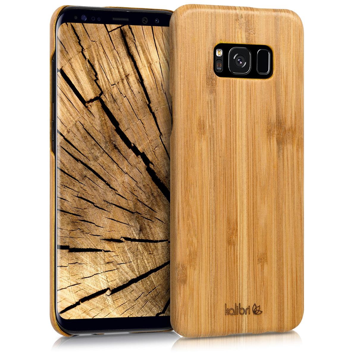 Kalibri Σκληρή Ξύλινη Θήκη Samsung Galaxy S8 Plus (42161.24)