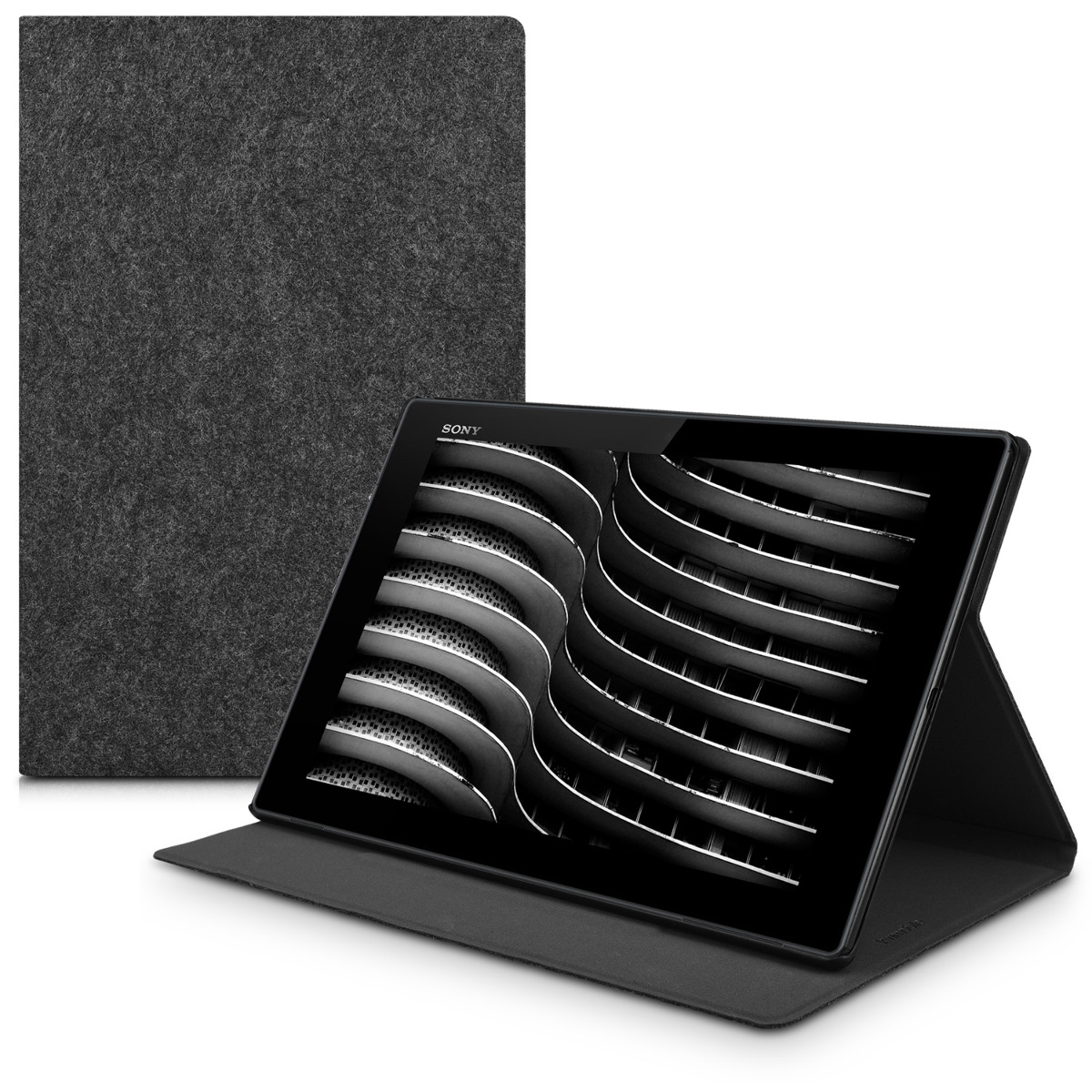 KW Θήκη Slim Sony Xperia Z4 - Σκούρο γκρι (42194.19)