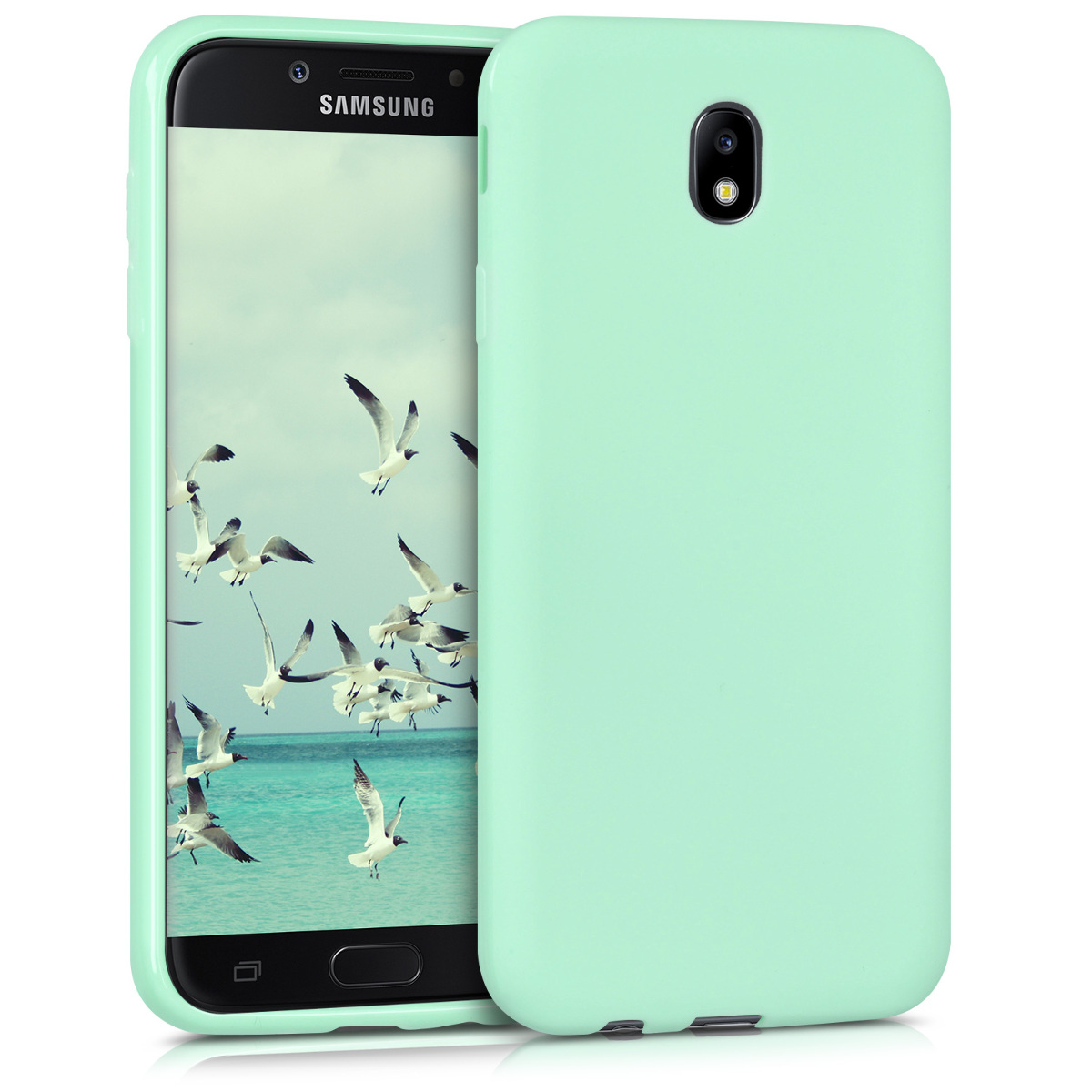 KW Θήκη Σιλικόνης Samsung Galaxy J7 2017 - Mint Matte (42287.50)