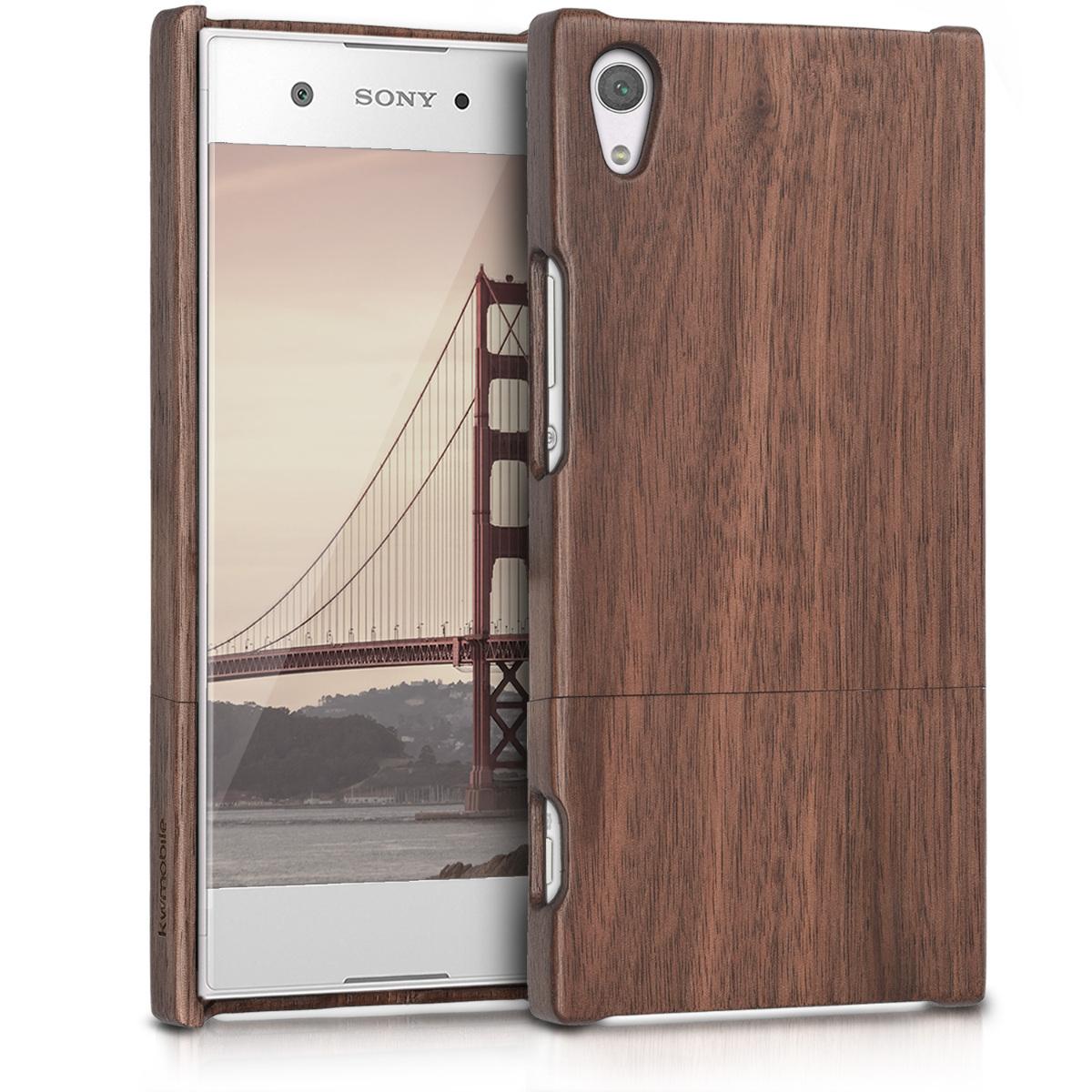 KW Ξύλινη Θήκη Sony Xperia XA1 Ultra - Καφέ (42709.18)