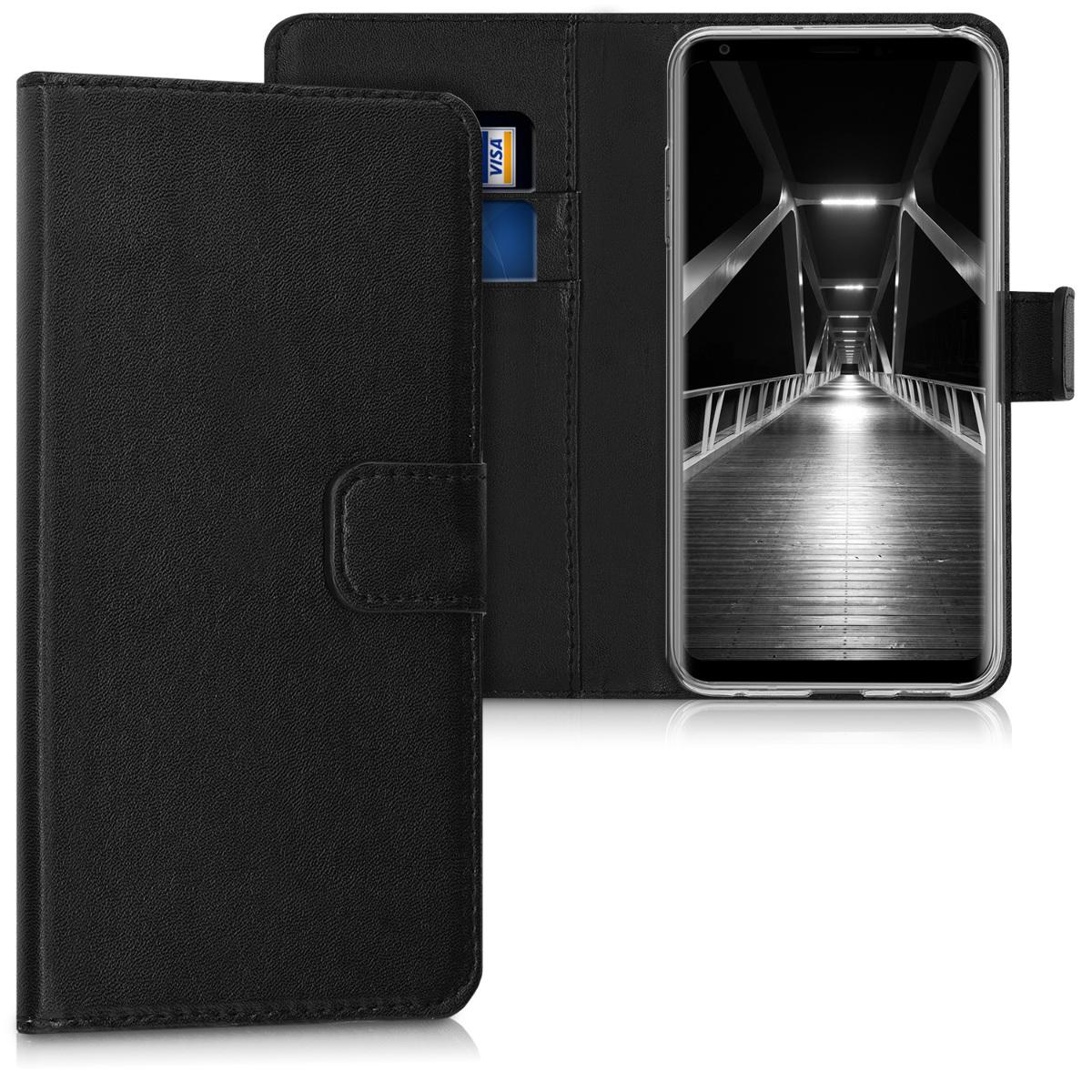 KW Θήκη-Πορτοφόλι LG V30 - Μαύρο (42746.01)
