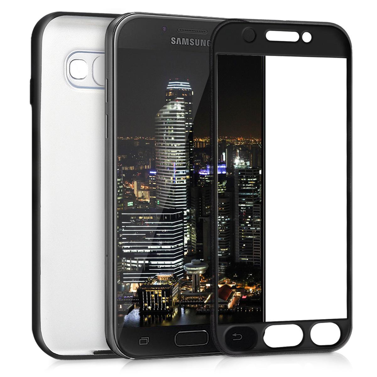 KW Θήκη Σιλικόνης Full Body Samsung Galaxy A5 (2017) - Metallic Black (42756.68)