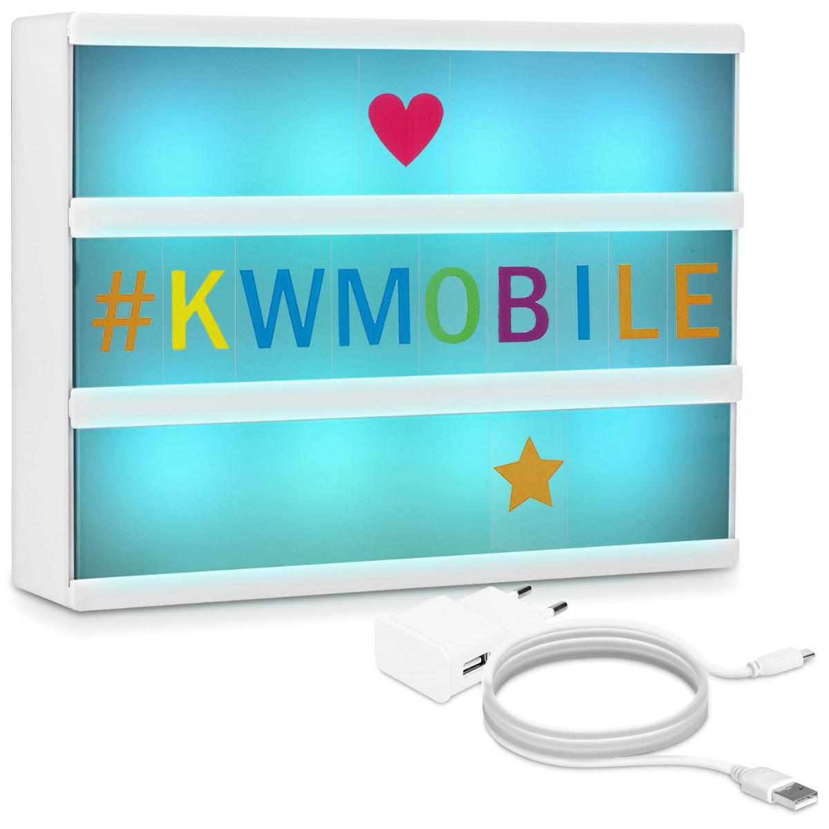 KW LED Color Change Lightbox A6 - 7 Xρώματα (42798)