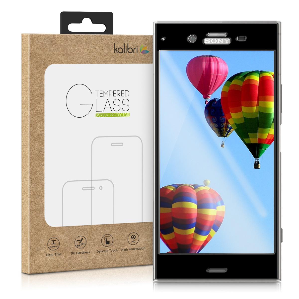 Kalibri Tempered Glass - Fullface Αντιχαρακτικό Γυαλί Οθόνης Sony Xperia XZ1 (42925.01)
