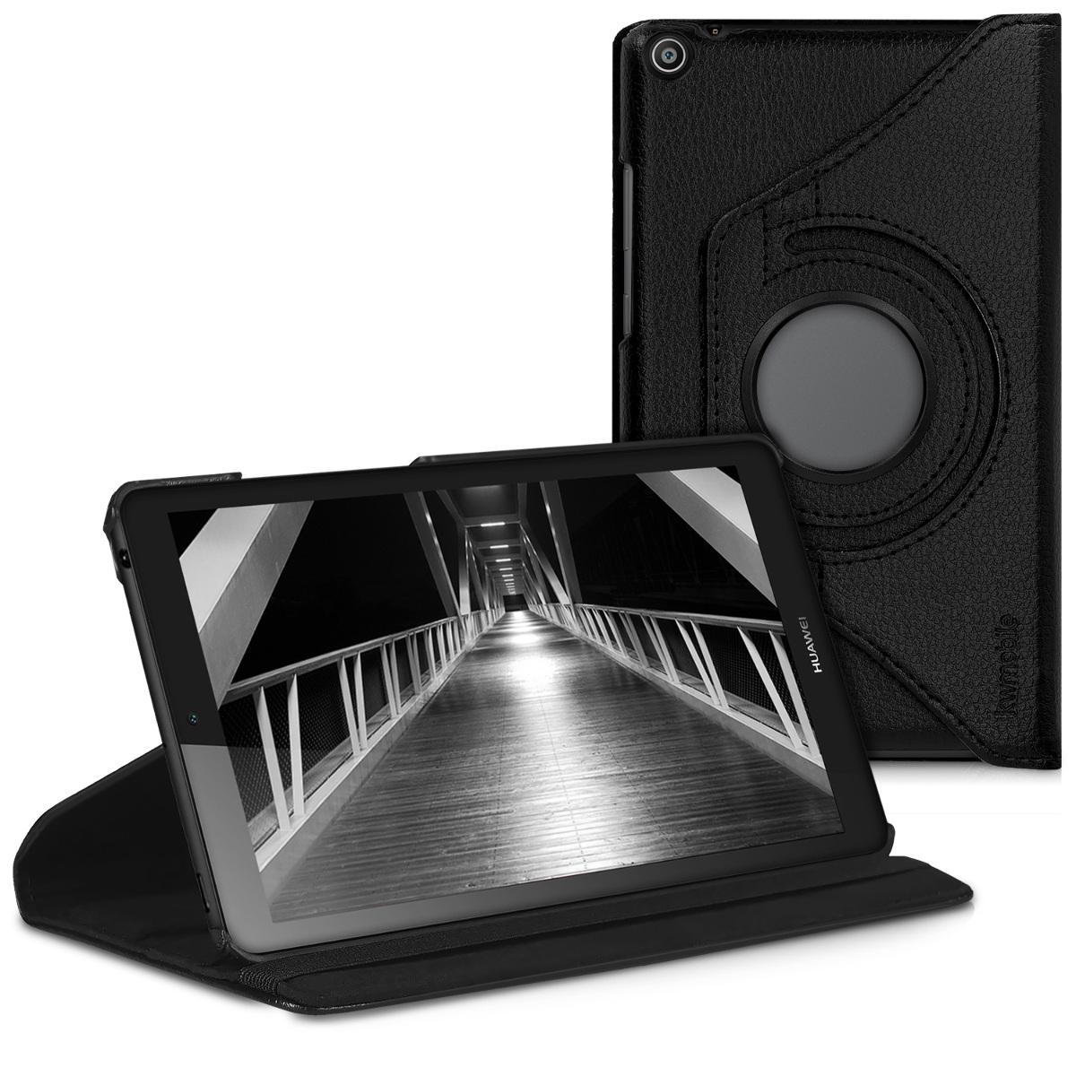 KW Θήκη 360° Huawei MediaPad T3 7.0 - Συνθετικό Δέρμα - Black (43161.01)