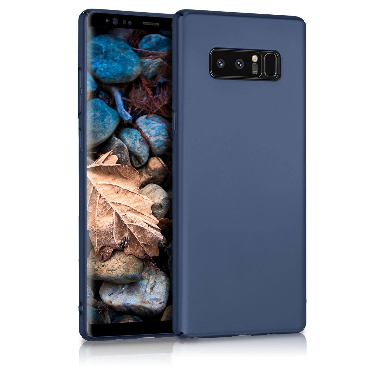 KW Slim Anti-Slip Cover - Σκληρή Θήκη Καουτσούκ Samsung Galaxy Note 8 - Μπλε μεταλλικό (43275.99)