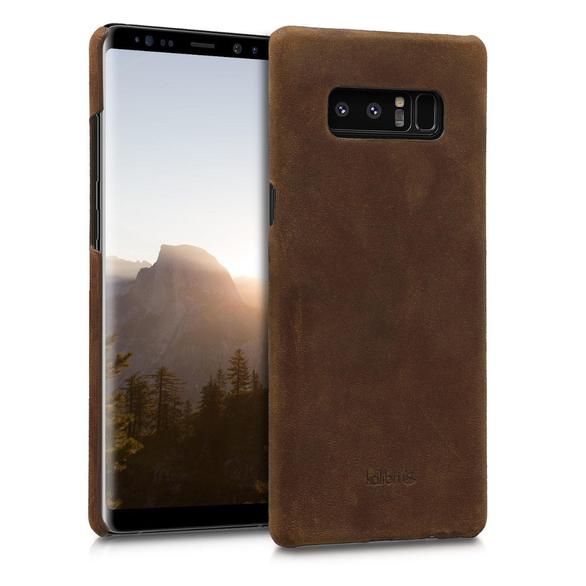 Kalibri Σκληρή Δερμάτινη Θήκη Samsung Galaxy Note 8 - Brown (43335.05)