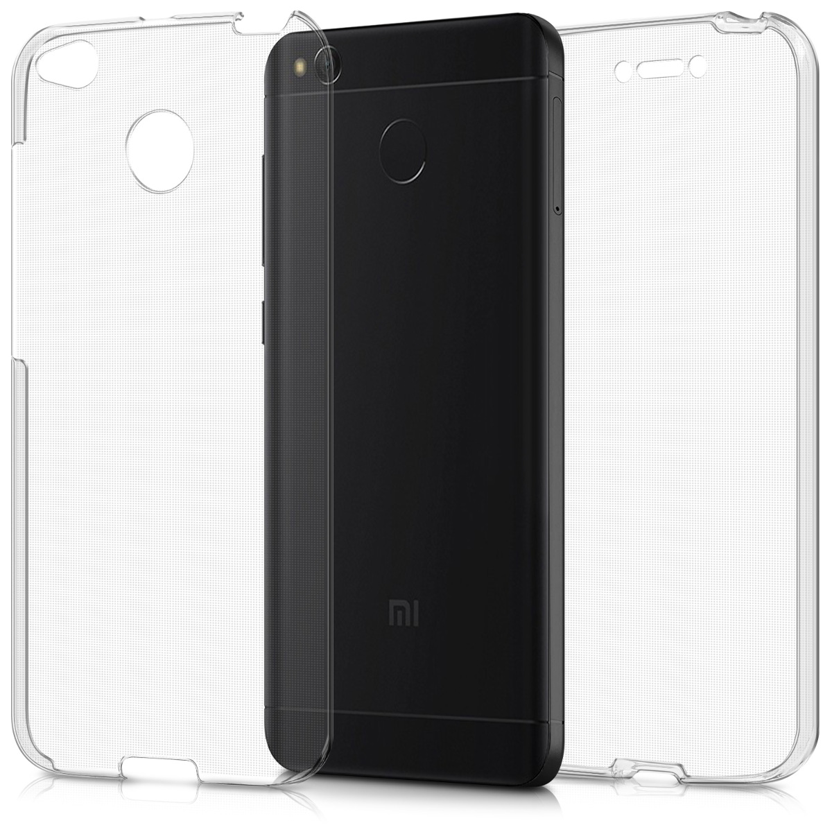 KW Διάφανη Θήκη Σιλικόνης Full Body Xiaomi Redmi 4X (43395.03)