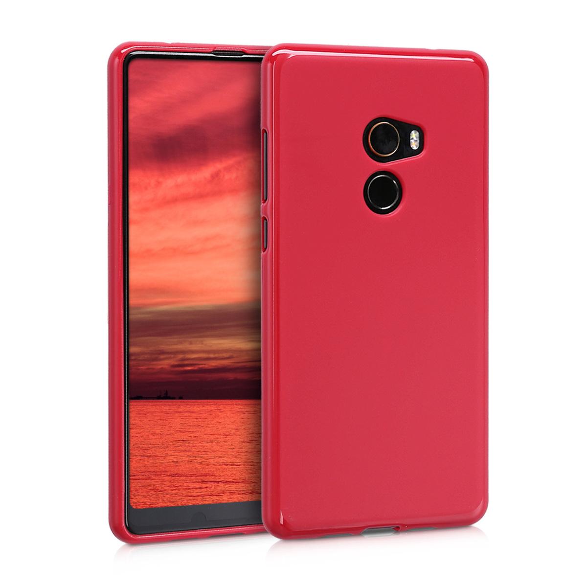 KW Θήκη Σιλικόνης Xiaomi Mi Mix 2 - Red Matte (43506.51)