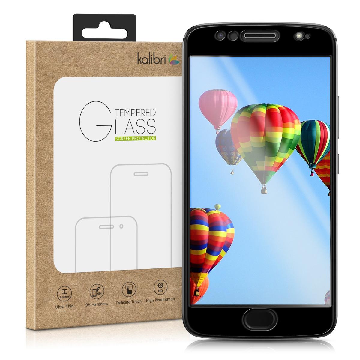 Kalibri Tempered Glass - Fullface Αντιχαρακτικό Γυαλί Οθόνης Motorola Moto G5S - Black (43760.01)