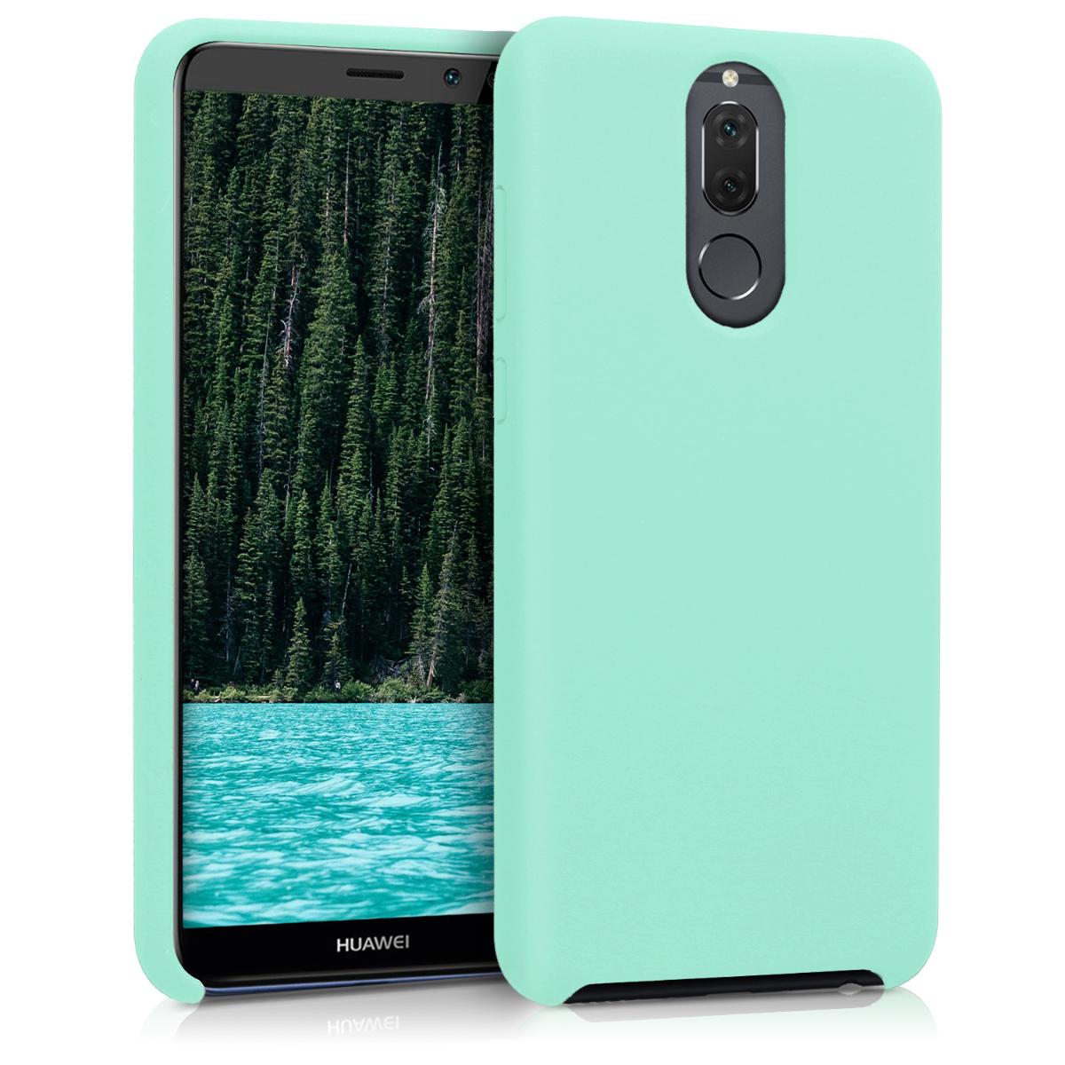 KW Θήκη Σιλικόνης Huawei Mate 10 Lite - Soft Flexible Rubber - Peppermint Green (43768.147)