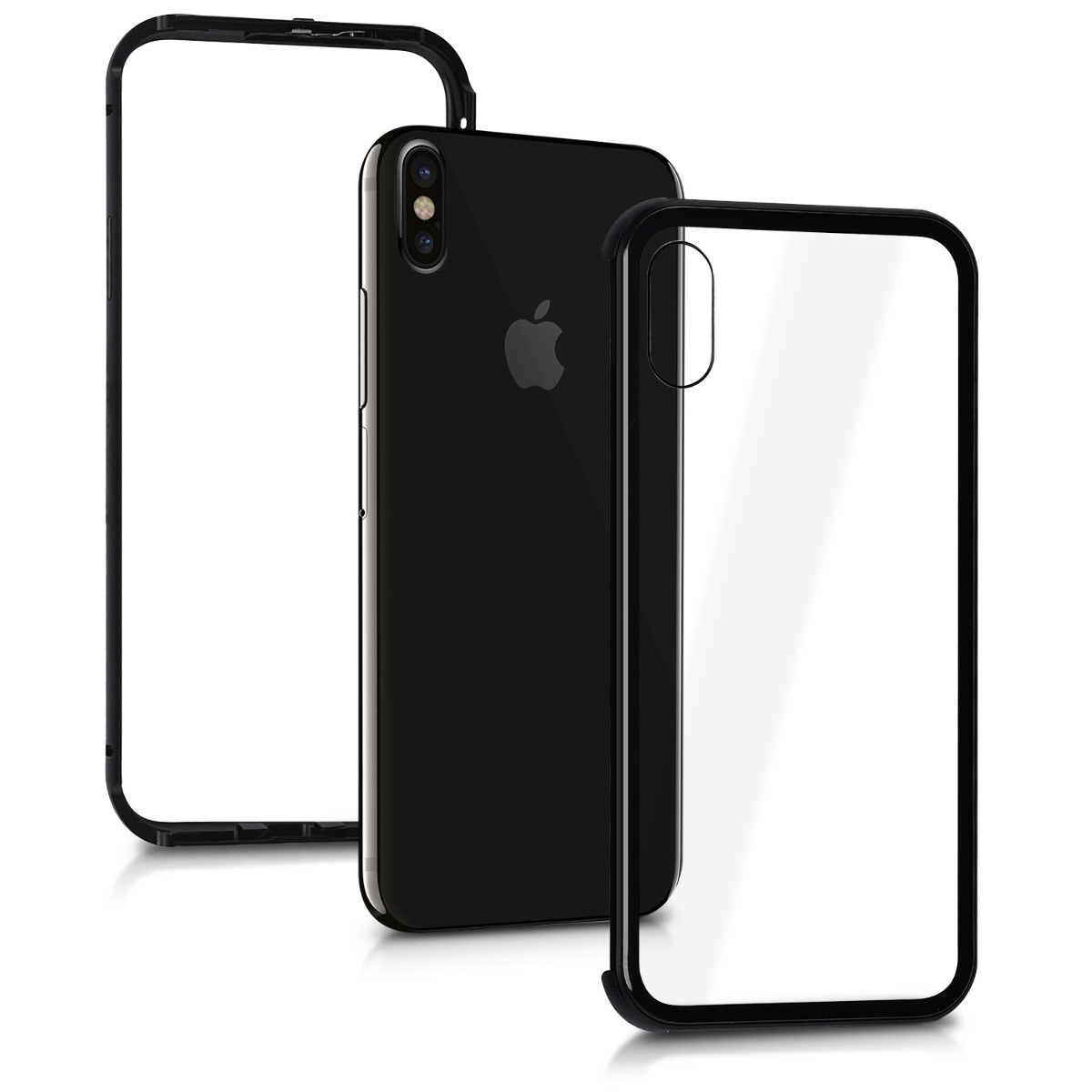 Kalibri Θήκη Full Body Apple iPhone X - Black (43946.01)