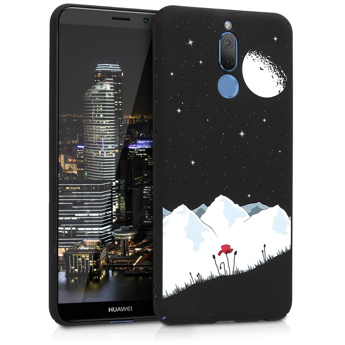 KW Slim Anti-Slip Cover - Σκληρή Θήκη Καουτσούκ Huawei Mate 10 Lite - Μαύρο/Άσπρο (44112.03)