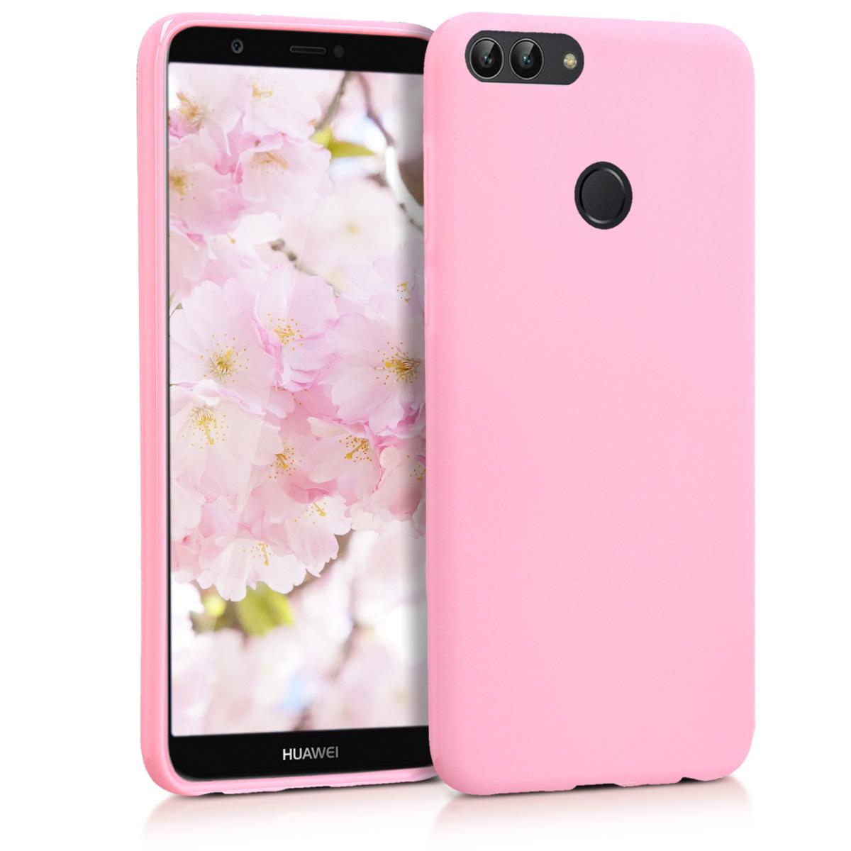 KW Θήκη Σιλικόνης Huawei P Smart - Antique Pink Matte (44124.52)