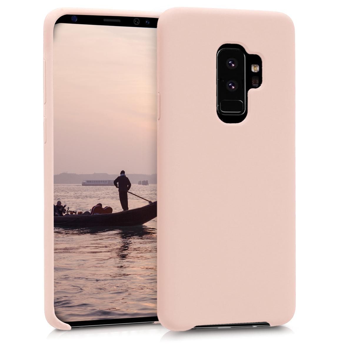 KW TPU Θήκη σιλικόνης Samsung Galaxy S9 Plus - Light Pink Matte (44183.52)