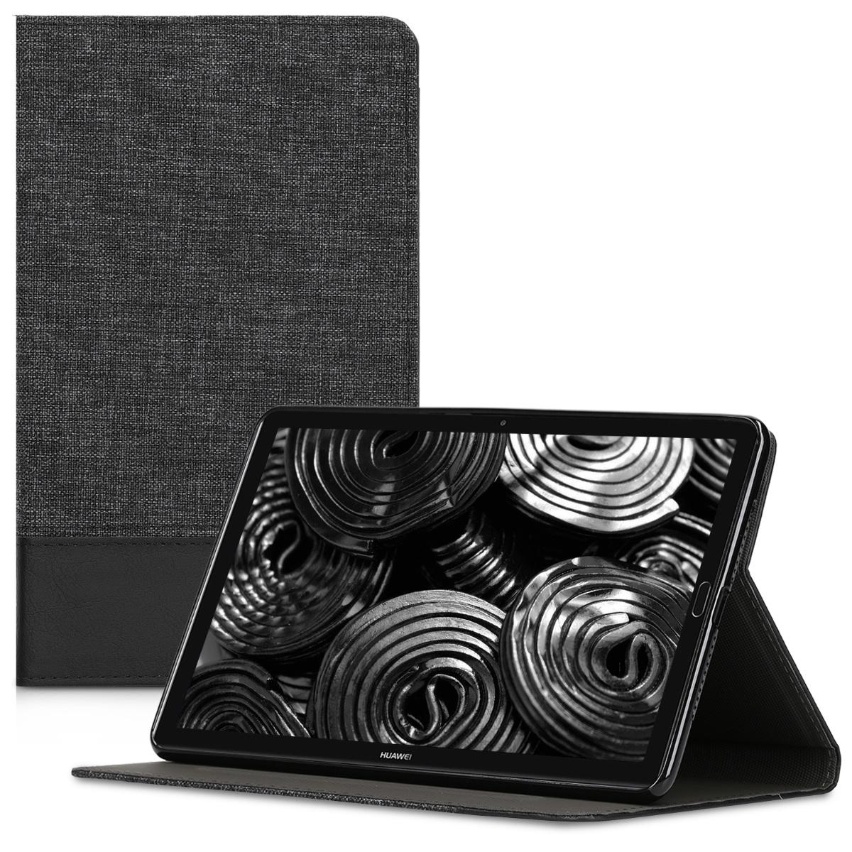 KW Θήκη Huawei MediaPad M5 8 - Grey / Black (44243.73)