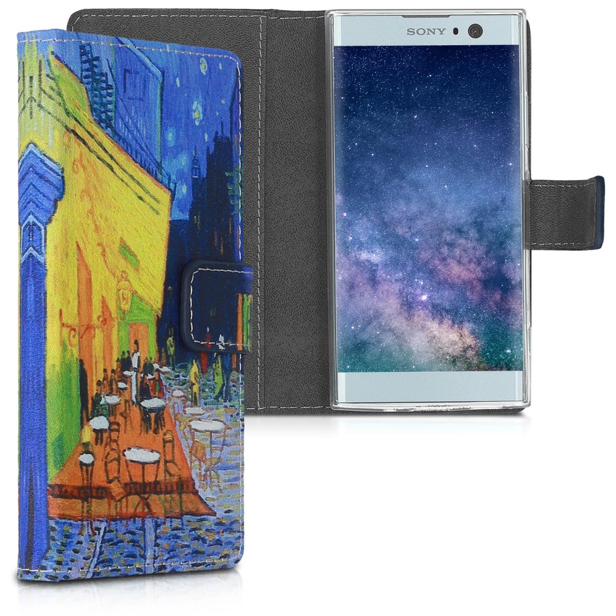 KW Θήκη Sony Xperia XA2 - Blue / Yellow / Orange (44294.07)